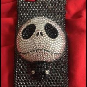 Jack Skellington crystal phone case for iPhone 6s